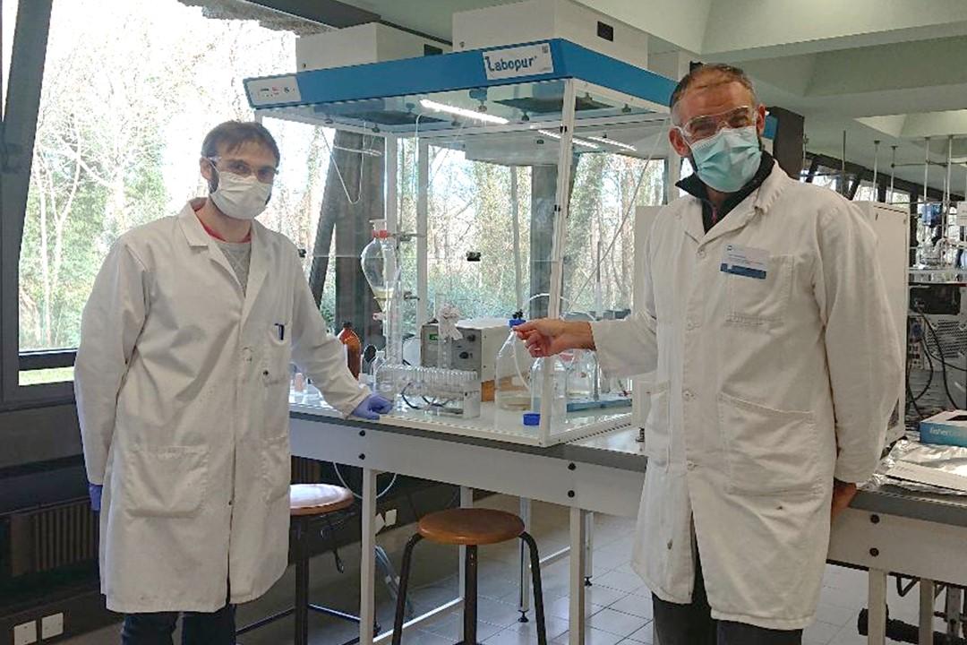 Purifier et extraire des molécules : réduire la consommation de solvant grâce à la chromatographie de partage centrifuge