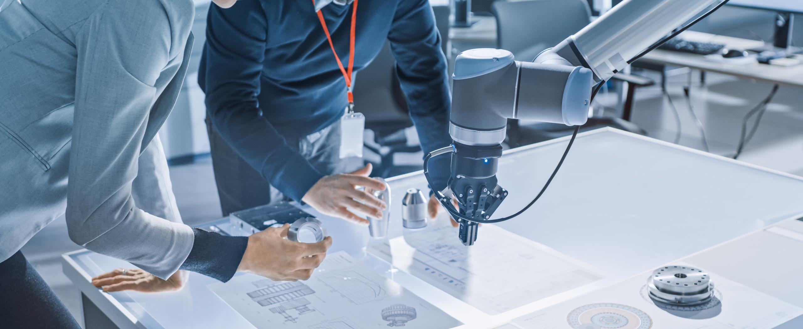 technologie robotique industrielle